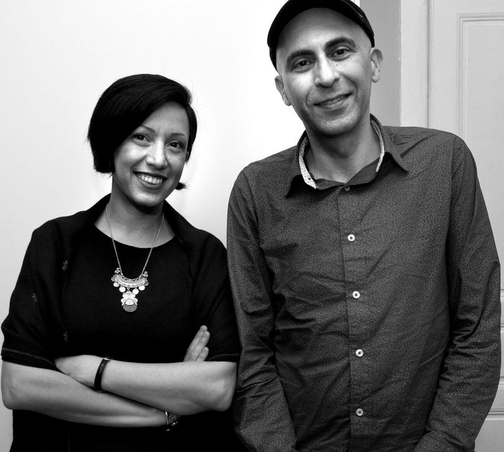 Rafeef Ziadah and Phil Monsour