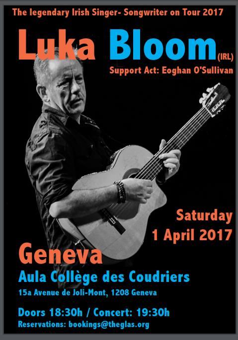 Luka Bloom live in Geneva