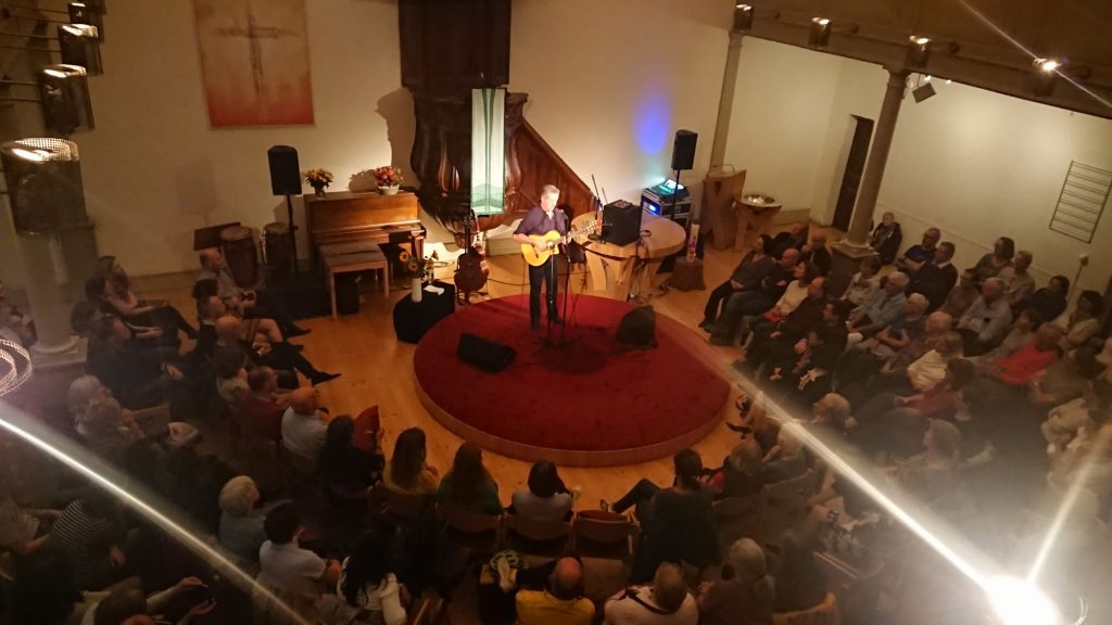 Luka Bloom performing in Geneva, 23 September 2019